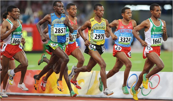 african-olympic-runners